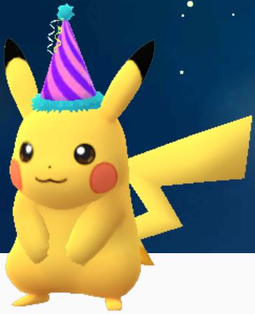 Pikachu-Partyhut