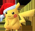 Pikachu-Weihnachtsmütze