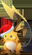 Raichu-Weihnachtsmütze