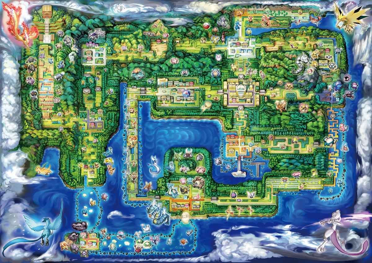 Regionskarte