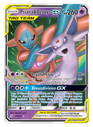 72/236 Psiana & Deoxys TAG TEAM GX