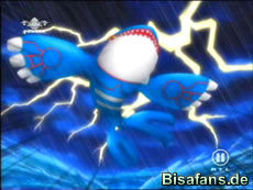 Screenshot von Kyogre