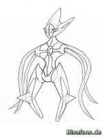 Zeichenkurs Deoxys (Angriffsform) - Schritt 11