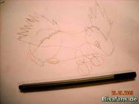 Zeichenkurs Igelavar - Schritt 9