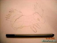 Zeichenkurs Igelavar - Schritt 10