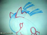 Zeichenkurs Kyogre - Schritt 12