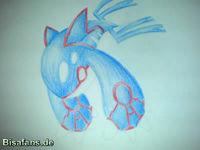 Zeichenkurs Kyogre - Schritt 14