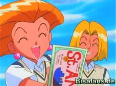 Ash bekommt ein Ticket