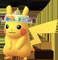 Pikachu Blumenhut