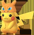Pikachu Glurak-Mütze