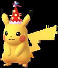 Partyhut-Pikachu