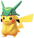 Pikachu Rayquaza-Mütze