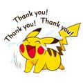 Pikachu: Thank you!
