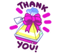 Geschenk: Thank U
