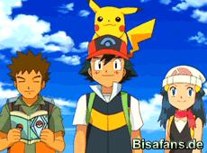 Ash, Lucia und Rocko