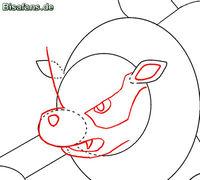 Zeichenkurs Arkani - Schritt 5