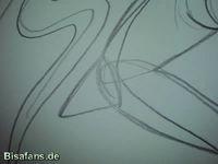 Zeichenkurs Deoxys (Angriffsform) - Schritt 10
