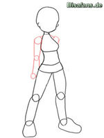 Zeichenkurs Leaf - Schritt 3