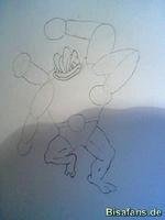 Zeichenkurs Machomei - Schritt 9