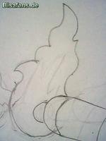 Zeichenkurs Machomei - Schritt 2