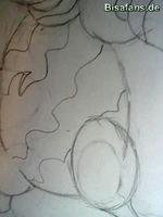 Zeichenkurs Machomei - Schritt 8
