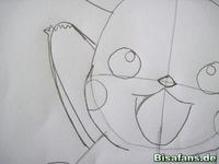Zeichenkurs Pikachu - Schritt 7