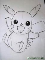 Zeichenkurs Pikachu - Schritt 11
