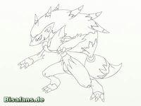 Zeichenkurs Zoroark - Schritt 10