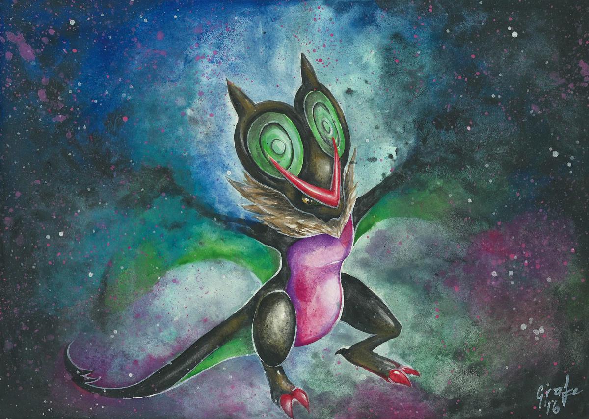Pokemon Ausmalbilder Sumpex : 715 Uhafnir Pok Dex Bisafans De