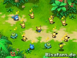 Die Pokémon haben viel Spaß mit Ukulelen-Pichu
