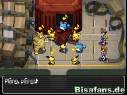 Hier werden nicht nur Pokémon der Isla Dolcevi sondern auch Sonjas (Julians) Partner-Pokémon befreit