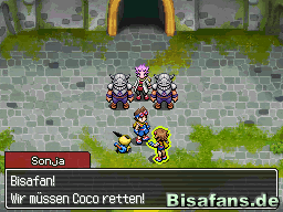 Was machen die Geharnischten da mit Coco?