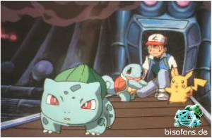 Ash rettet seine Freunde