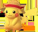 Pikachu-Strohhut