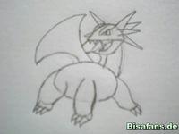Zeichenkurs Brutalanda - Schritt 6