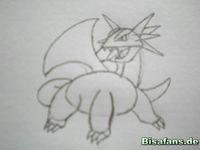 Zeichenkurs Brutalanda - Schritt 7