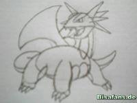 Zeichenkurs Brutalanda - Schritt 8