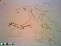 Zeichenkurs Reptain - Schritt 4