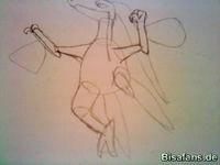 Zeichenkurs Reptain - Schritt 5