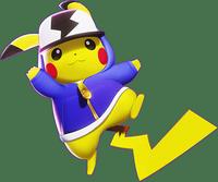 Screenshot von Pikachu mit einem Skin