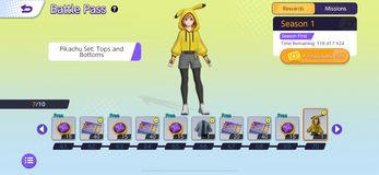 Screenshot aus Pokémon Unite