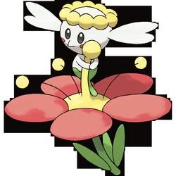 Flabébé Rotblütler