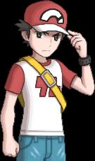 Pokémon-Trainer Rot