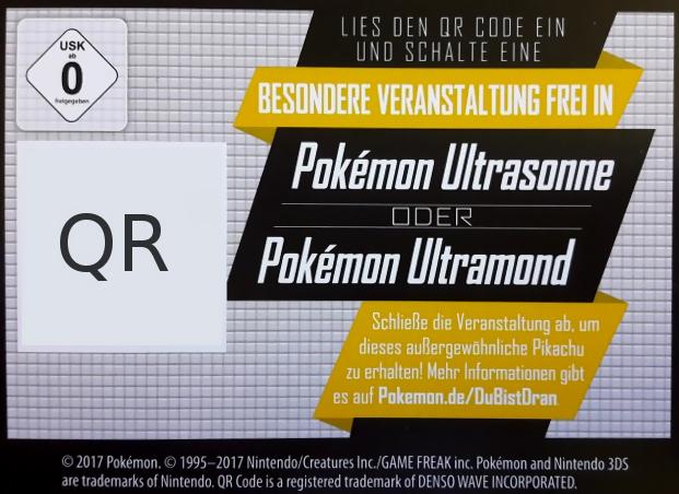 Ash Pikachu Für Kinofilmbesucher Pokémon Ultrasonne Und Ultramond