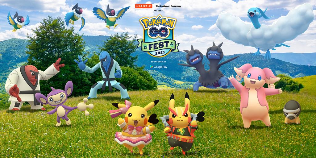 Pokémon GO Fest 2021: Tag 2