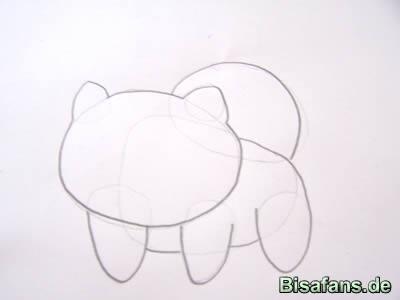 Bisasam Zeichenkurs Zeichenkurse Fanwork Bisafansde