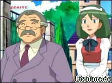 Mr. Backlot und seine Haushälterin