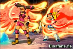 Ash und Kidd in Gefahr
