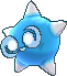Blaues Meteno in Kernform