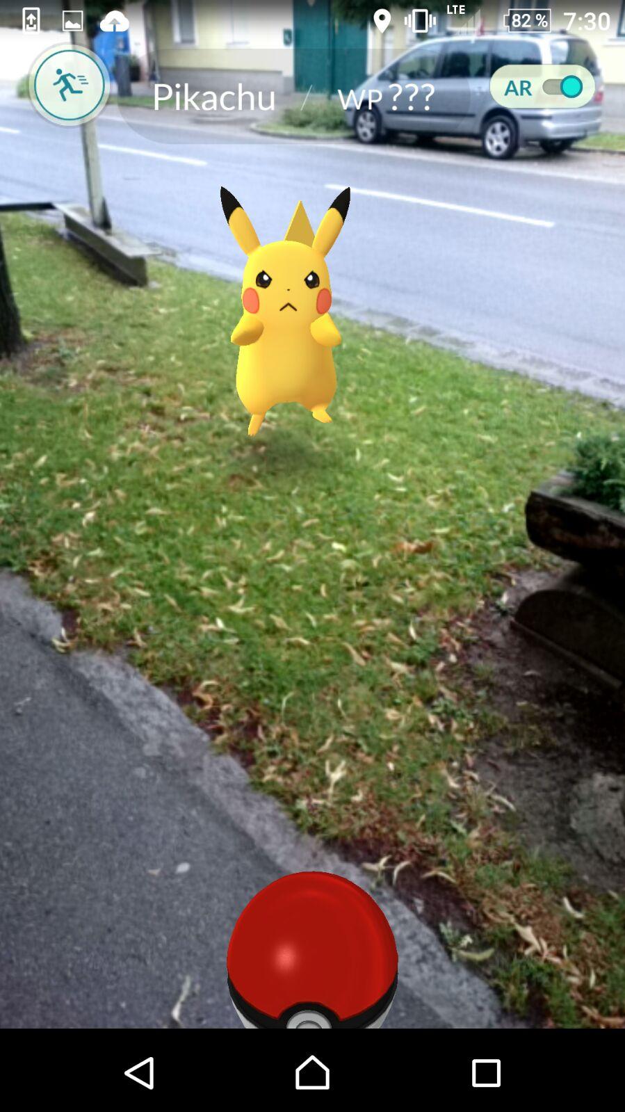 Pikachu fangen
